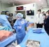 """""""국군의무사령부·수도병원 방문해 장병들에 위문금 전달, 박병석 국회의장"""